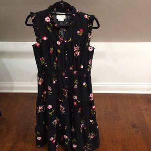 Kate Spade Floral Midi Dress